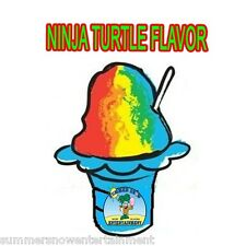 NINJA TURTLE MIX Snow CONE/SHAVED ICE Flavor QUART #1 CONCESSION SUPPLIES