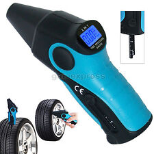 2-in-1 Digital Tire Pressure Gauge Medición De Coches Truck PSI, BAR, kPa,kg/cm2