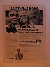 1991 Print Ad The Twilight Zone TV Show VHS Coll ~ Give Them a Home If You Dare