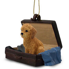 Goldendoodle Suitcase Ornament