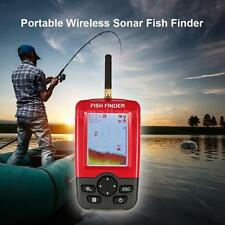 Portable Color LCD Wireless Sonar Sensor Transducer Fishfinder Fish AlarmVS O3O3