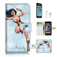 iPhone 6 6S (4.7') Flip Wallet Case Cover! P1911 Wonder Woman