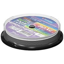 10 Verbatim Blu Ray 100GB BD-R BDXL 3D Bluray Triple Layer Bluray Printable Disc
