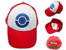US Cosplay Pokemon Hat Ash Ketchum Visor Cap Costume Baseball Hat Gift New