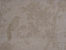 "RALPH LAUREN CURTAIN FABRIC ""Marlowe Floral Sheer"" 3.65 METRES ALABASTER VOILE"