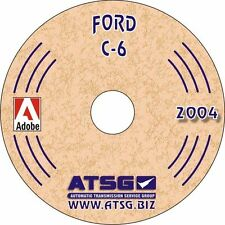 ATSG Ford C6 Transmission Rebuild Instruction Service Tech Manual