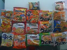 Instant Noodle Sampler Udon Ramen Pho Chow Mein Pad thi