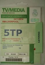 TICKET TV / Media UCL 2014/15 Real Madrid vs. Liverpool FC