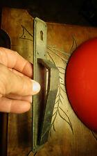 Ancienne Poignée de Porte rustique Design Art Déco de Meuble en Bronze anodisé
