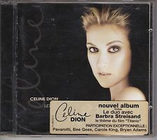 CELINE DION CD LET'S TALK ABOUT LOVE STREISAND BOF TITANIC PORT A PRIX COUTANT