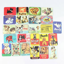 Set of 24 Mix Cute Spotty DogS FRIDGE MAGNETS Kid Gift POSTER