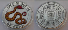 2013 SOMALIA Huge(65mm) Color 50 SHILLINGS  YEAR OF THE SNAKE-Chinese Calendar