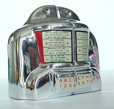 JUKEBOX WALLBOX Salt & Pepper Seeburg 3W1 Diner Selector S&P Vintage Vandor 1992