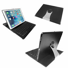 360 Swivel Rotating Stand Case Folio Cover Bluetooth Keyboard For iPad Pro 12.9""