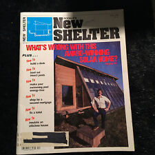 Rodales New Shelter: Whats Wrong With THis Award-Winning Solar Home? April 1982