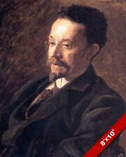 BLACK AMERICAN ARTIST HENRY OSSAWA TANNER PORTRAIT PAINTING ART CANVAS PRINT
