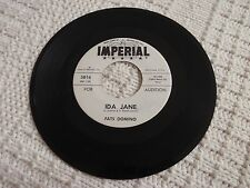 FATS DOMINO  IDA JANE/YOU WIN AGAIN IMPERIAL 5816 PROMO