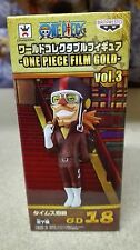 ONE PIECE WCF FILM GOLD Vol. 3 TIMES COUNT FIGURA FIGURE 18 NEW NUEVA