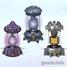 Skylanders imaginators - 3 X Paquetes De Cristal Magic TECH & No-muertos * Nuevo y Sellado *