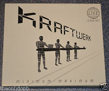 Kraftwerk - Minimum Maximum (DVD, 2005, 2-Disc Set) 5.1 PAL - Promo Copy