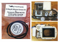 Replacement O-ring & Silicone Grease Kit for Panasonic DMW-MCTZ5 Underwater Case