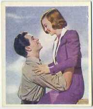 Robert Taylor + Margaret Sullavan 1939 Godfrey Phillips Love Scenes Tobacco Card