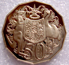 AUSTRALIA: 2008 50 CENTS PROOF COAT OF ARMS GREAT PRICE