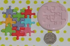 Jigsaw Pieces Mould by Fairie Blessings