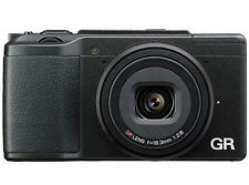 Ricoh GR II Black 16.2MP Wi-Fi Digital Camera Japan Model New
