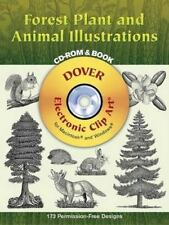 Forest Plant and Animal Illustrations CD-ROM and Book (Dover Electronic Clip