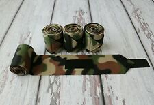 Horse Polo Leg Wraps Stable Wraps Polos Set of 4 Camouflage 2