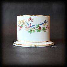 US Zone Royal Bayreuth Cigarette - Card holder Blue Birds and Berries
