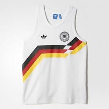 West Germany Adidas Originals Retro World Cup Italia 90 Vest / Tank Top - XL