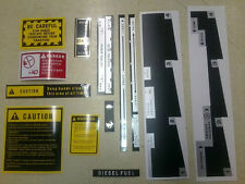 International 574 674 584 684 784 884 shift lift caution decals