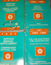 1995 Dodge Caravan Plymouth Voyager Chrysler Town & Country Service Manual Set