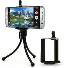 Mini Flexible Table Top Tripod with Pocket Belt Clip + Standard Smartphone Mount
