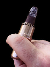 Cigar Cannon Premium Cigar Holder Bronze Smoking Accessory Not a Lighter Gift WW