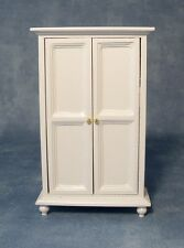 DOLLS house furniture: bianco 2 ante: in scala 12A