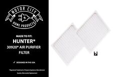 2 Air Filters Fits Hunter 30920; 30050, 30055, 30065, 37065, 30075, 30080