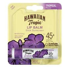 HAWAIIAN TROPIC LIP BALM STICK SUNSCREEN SPF 45 BRAND NEW & SEALED