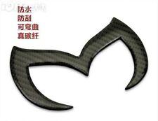 Car Emblem Badge Batman for Mazda Mazdaspeed 2 3 5 6 CX 100% Carbon Fiber Black
