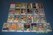 1973 Topps ATLANTA BRAVES Complete TEAM Set HANK AARON Evans JOHNSON Neikro