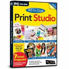 Focus Multimedia All-in-One Print Studio for PC (DVD-ROM) BRAND NEW SEALED