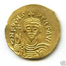 BYZANTINE FOCAS (602-610) SOLIDUS OR GOLD CONSTANTINOPLE !!!!