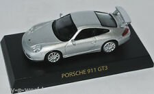 Kyosho Collection - 2003 PORSCHE 911 GT3 - silver metallic - 1:64 Japan Import