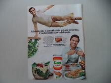 advertising Pubblicità 1977 OLIO CUORE e ENRICO MONTESANO
