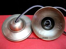 "High Quality Hand Crafted in Nepal 3"" Tibetan Buddhist Tingsha Cymbals Bell"