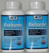 EXCLZYME-180ct SYSTEMIC ENZYME,REDUCES EXCESS FIBRIN In Your Body /FREE BOOKLET
