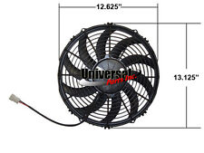 "12"" SPAL ELECTRIC PUSHER FAN 1360CFM SPAL # 30102030 VA10-AP70/LL-61S"