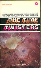 The Time Twisters by J. Hunter Holly-First Avon Printing-1968
